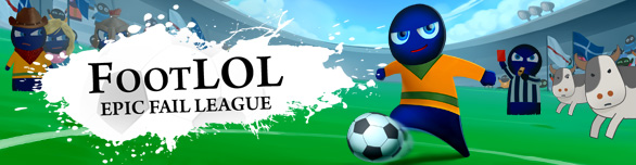 Игра «Foot LOL: Epic Fail League» [foot-lol-epic-fail-league]