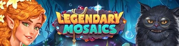 Игра «Legendary Mosaics: the Dwarf and the Terrible Cat» [legendary-mosaics-the-dwarf-and-the-terrible-cat]
