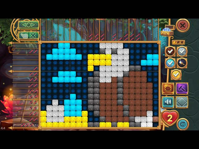 Игра «Legendary Mosaics: the Dwarf and the Terrible Cat»