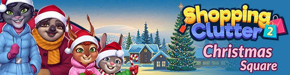 Игра «Shopping Clutter 2: Christmas Square» [shopping-clutter-2-christmas-square]
