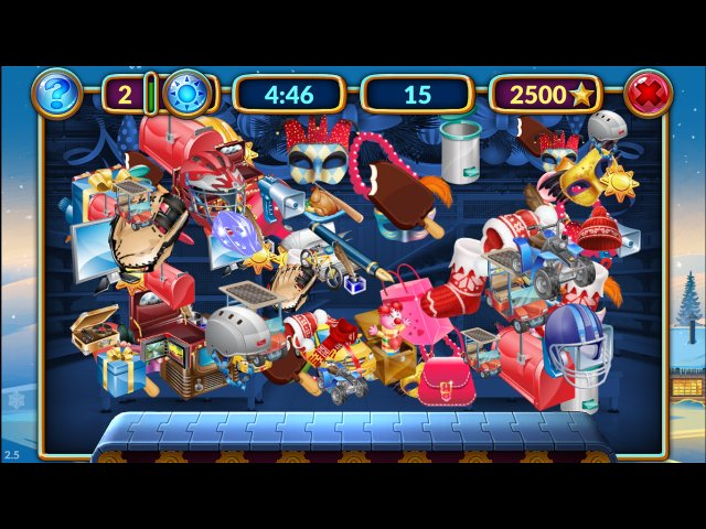 Игра «Shopping Clutter 2: Christmas Square»