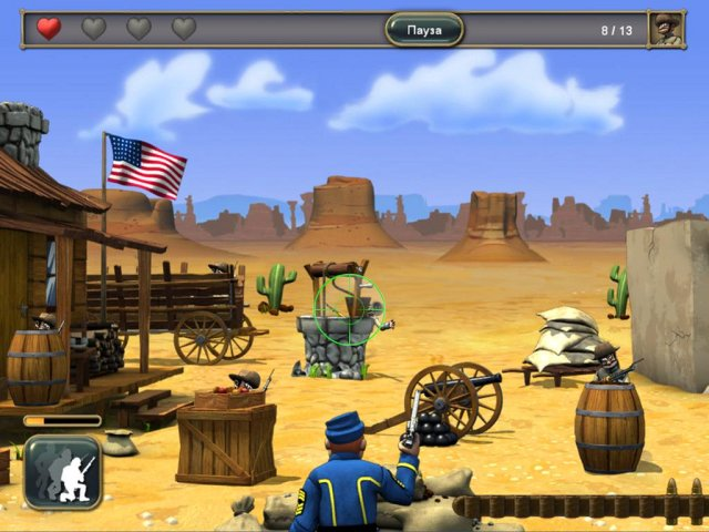 Игра «The Bluecoats: North vs South»