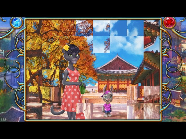 Игра «Travel Mosaics 8. Breathtaking Seoul»