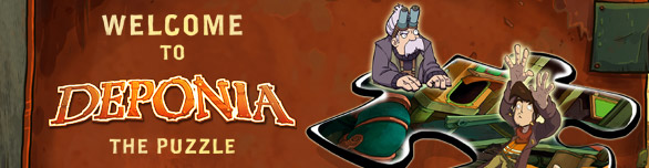 Игра «Депония. Пазлы» [welcome-to-deponia-the-puzzle]